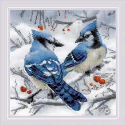 Borduurpakket Blue Jays - RIOLIS