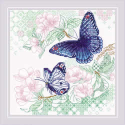 Cross stitch kit The Lightness of Spring - RIOLIS