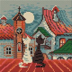 Diamond Mosaic City & Cats Spring - RIOLIS