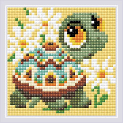 Diamond Mosaic Turtle - RIOLIS