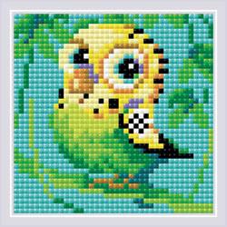 Diamond Mosaic Parakeet - RIOLIS