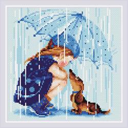 Diamond Mosaic Under My Umbrella - RIOLIS