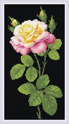 Diamond Mosaic Wonderful Rose - RIOLIS