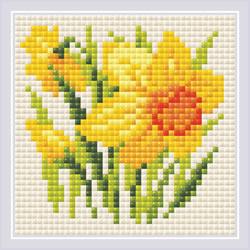 Diamond Mosaic Yellow Narcissus - RIOLIS