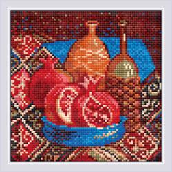 Diamond Mosaic Pomegranates - RIOLIS