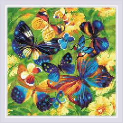 Diamond Mosaic Bright Butterflies - RIOLIS
