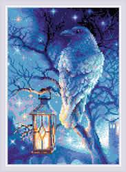 Diamond Mosaic Wise Raven - RIOLIS