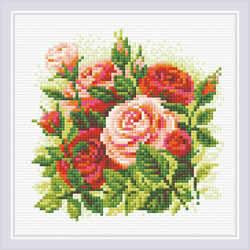 Diamond Mosaic Roses - RIOLIS
