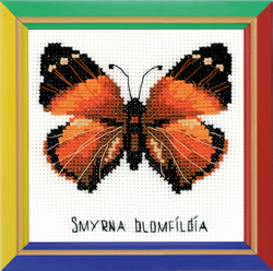 Cross Stitch Kit Nymphalidae Butterfly - RIOLIS