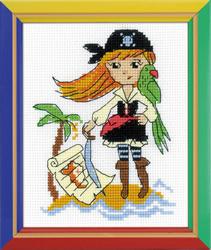 Borduurpakket Treasure Island - RIOLIS