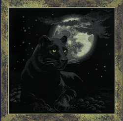 Cross Stitch Kit Full Moon - RIOLIS