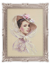Cross Stitch Kit Lilac Evening - RIOLIS