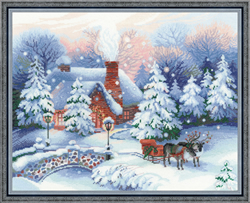 Cross Stitch Kit Cristmas Eve - RIOLIS