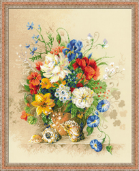 Cross Stitch Kit Flemish Summer - RIOLIS