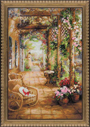 Cross Stitch Kit A Secret Romance - RIOLIS
