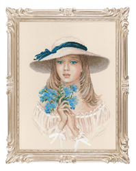 Cross Stitch Kit Forget Me Not - RIOLIS