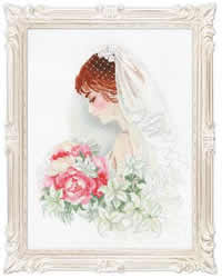 Cross Stitch Kit Bride - RIOLIS