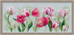 Cross Stitch Kit Spring Tulips - RIOLIS