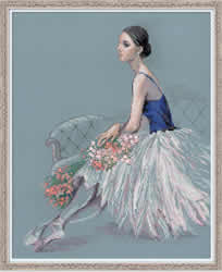 Cross stitch kit Ballerina - RIOLIS