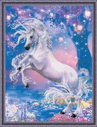 Borduurpakket Unicorn - RIOLIS