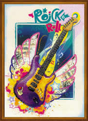 Cross Stitch Kit Rock 'n' Roll - RIOLIS