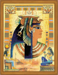 Cross Stitch Kit Cleopatra - RIOLIS