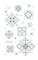 Cross Stitch Chart Let it Snow! - Rosewood Manor