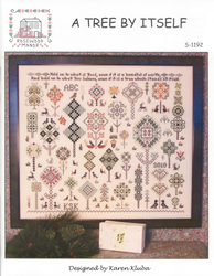 Cross Stitch Chart A Tree By Itself - Rosewood Manor