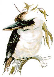 Borduurpatroon Kookaburra - Ross Originals