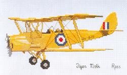 Cross Stitch Chart Tiger Moth - Ross Originals