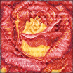Cross Stitch Kit Red Rose - RTO