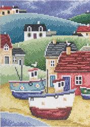 Borduurpakket Fisherman's Village 1 - RTO
