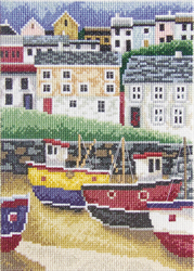 Cross Stitch Kit Fisherman's Village 2 - RTO
