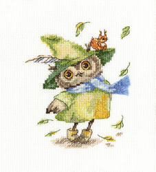 Cross Stitch Kit Leaf Fall - RTO