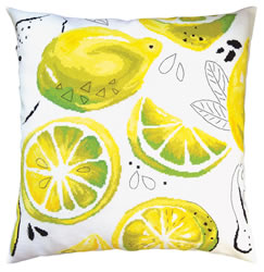 Cross stitch kit Yellow lemons - RTO