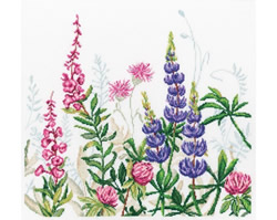 Cross stitch kit Lupins - RTO