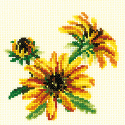 Borduurpakket Coneflower - RTO