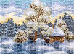 Cross Stitch Kit House on the Forest Edge - RTO