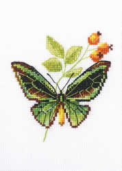 Cross Stitch Kit Briar and Butterfly - RTO
