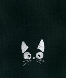 Cross stitch kit Among Black Cats - RTO