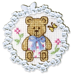 Borduurpakket Framed Art Baby Bear - RTO
