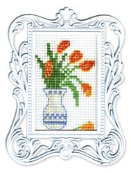 Borduurpakket Framed Art Vase - RTO