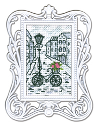 Borduurpakket Framed Art Bycicle - RTO