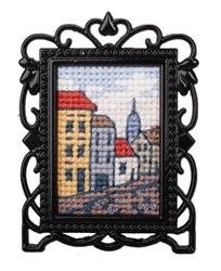 Cross Stitch Kit Framed Art Street - RTO