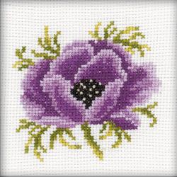 Cross Stitch Kit Anemone - RTO