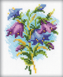 Cross Stitch Kit Bluebells - RTO