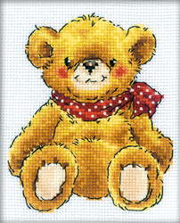 Cross Stitch Kit Teddy-bear - RTO
