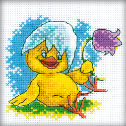Cross Stitch Kit Easter Chicken - RTO