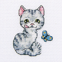 Cross Stitch Kit Pretty Bessie - RTO