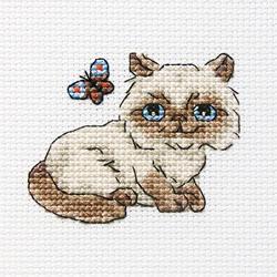 Cross Stitch Kit Fluffy Baksie - RTO